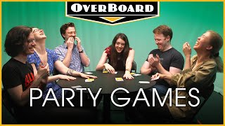 Let's Play ANOMIA and SKULL feat. College Humor's Brennan Lee Mulligan | Overboard, Episode 13
