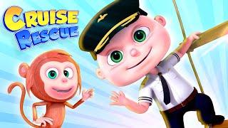 Cruise Rescue (Single) Episode   Cartoon Animation For Children   Videogyan Kids Shows   Zool Babies