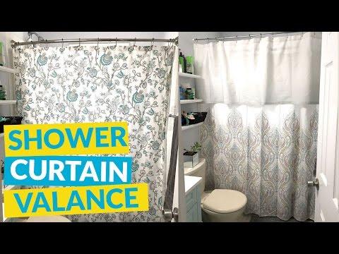 Shower Curtain Valance