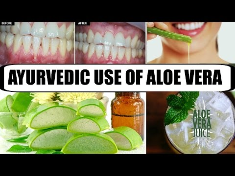 Health benefits of using ALOE VERA - The miracle herb