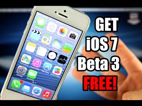 How To Install & Update iOS 7 Beta 3 FREE For iPhone 5/4S/4 iPad 4/3/2/Mini Without Registering UDID