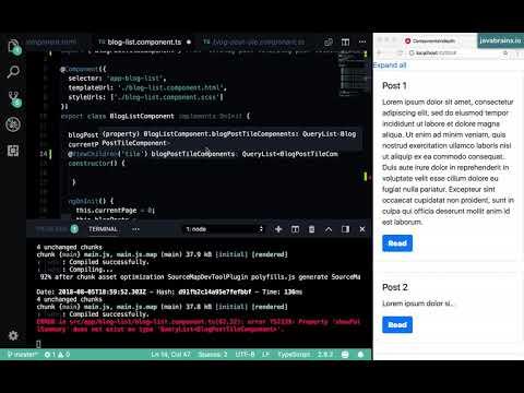 Angular Components In Depth 15 - Using ViewChildren