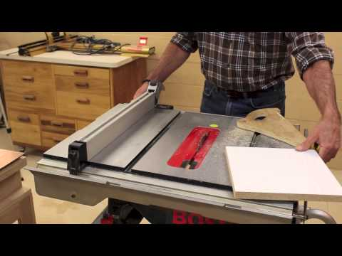 Miter Saw & Table Saw Accuracy Check