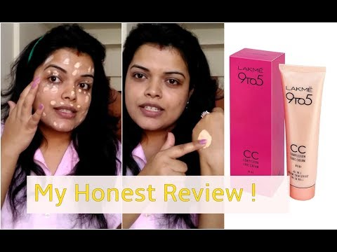 LAKME CC CREAM REVIEW IN HINDI | DEMO & HOW TO APPLY | PREETIPRANAV