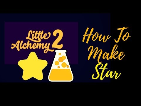 Little Alchemy 2-How To Make Star Cheats & Hints