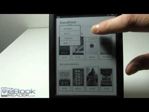 Sony Reader Kobo eBook Store Tutorial
