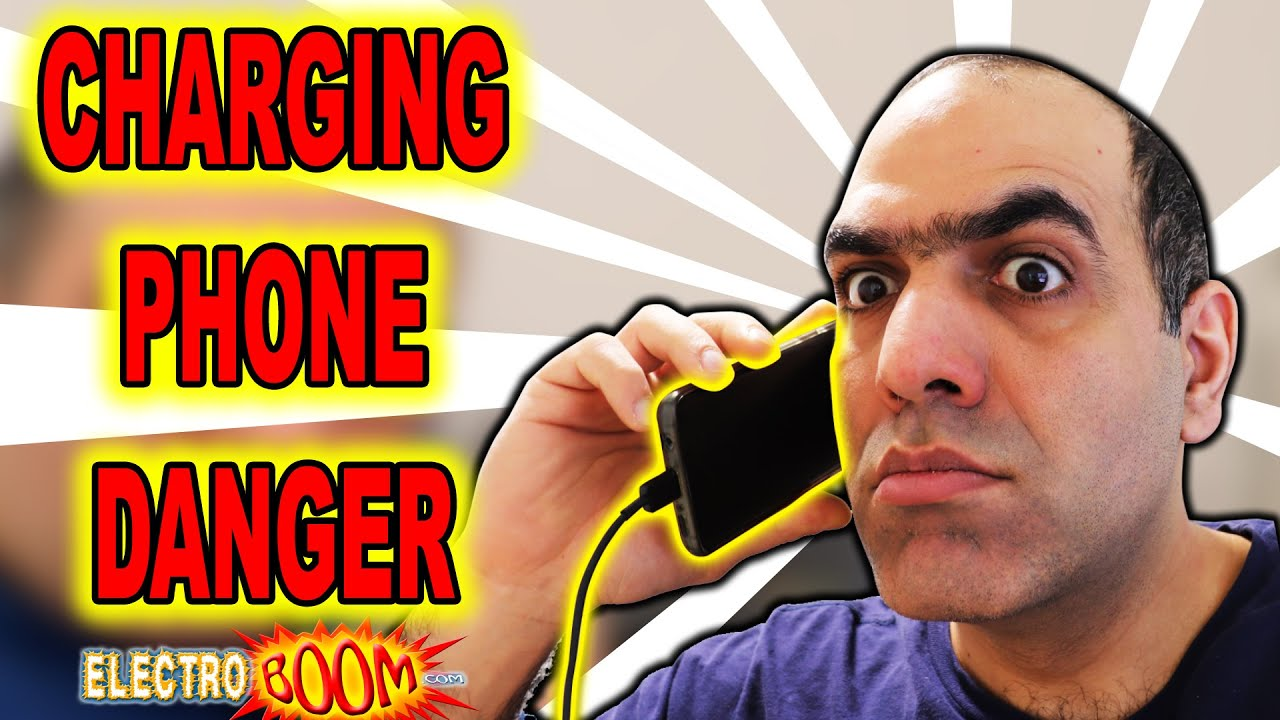 Charging Phone DANGEROUS?! ElectroBOOM Crew EXPOSED!!! (LATITY-004)