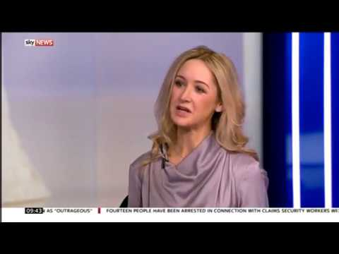 Dr Becky Spelman on Sky News discussing the economy of relationships