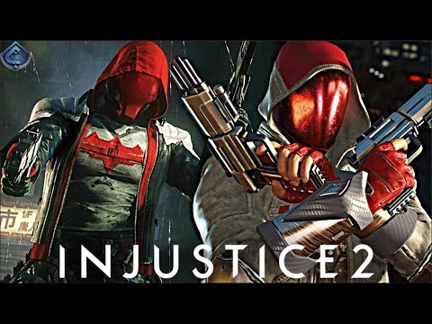 Injustice 2 Online - PERFECT ARKHAM KNIGHT RED HOOD LOADOUT!