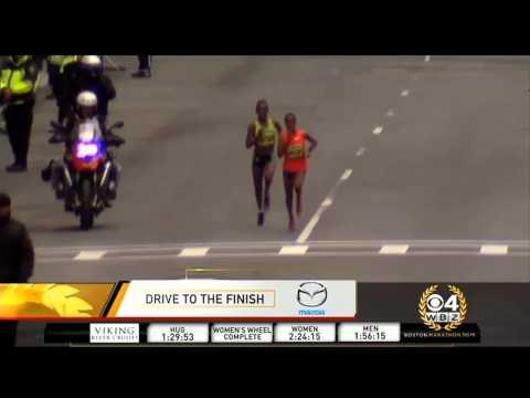 Watch: Caroline Rotitch Wins Closely Contested Boston Marathon Women's Race