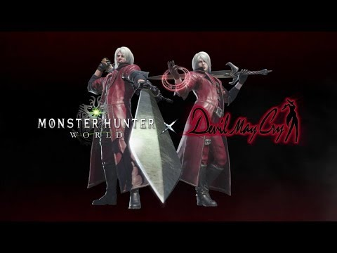 HOW TO GET DANTES OUTFIT !!! MONSTER HUNTER WORLD !!!