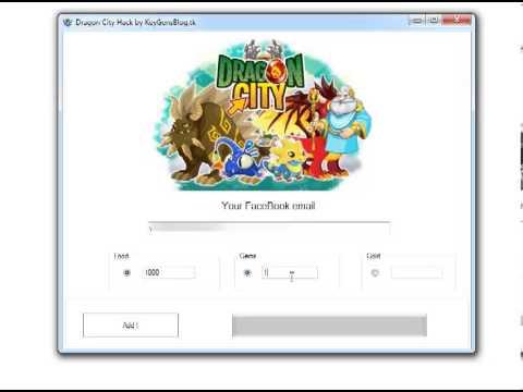Dragon City -- FaceBook Hack