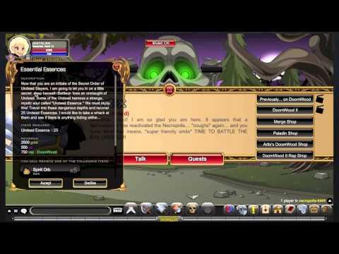 AQW: How to Farm Blinding Light Of Destiny (Part 1)!