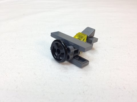 Tiny Tuesday Ep 3 Micro LEGO Prop plane Instructions EASY!