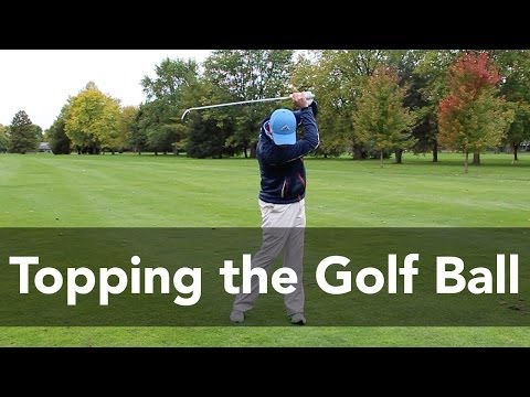How to Stop Topping the Golf Ball | Golf Instruction | My Golf Tutor