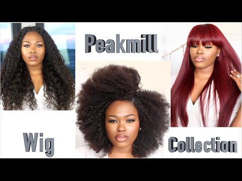 My PeakmillXRpgshow Wig Collection