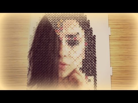 HOW TO CREATE A PHOTO IN PIXEL ART || HAMA BEADS