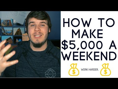 5 Tips To Make $5000 In 1 Week | Entrepreneur Mindset & Tactics To Increase Personal Income