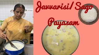 Javvarisi/sago Payasam by Revathy Shanmugam