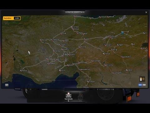 Euro Truck Simulator Türkiye Full İndir