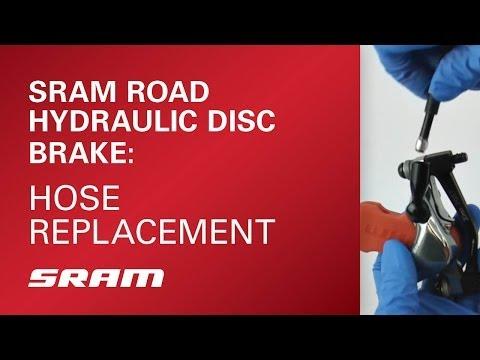 SRAM Road Hydraulic Disc Brake Hose Replacement