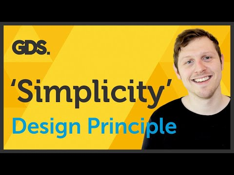'Simplicity' Design principle of Graphic Design Ep15/45 [Beginners guide to Graphic Design]