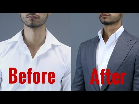 2 Secrets To The Perfect Shirt Collar