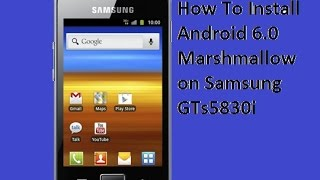 How to Install Android 5 0 Lollipop For Samsung Galaxy Ace