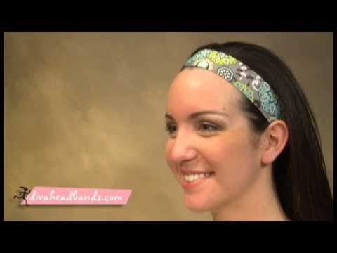 How to Wear a Thick Workout Headband