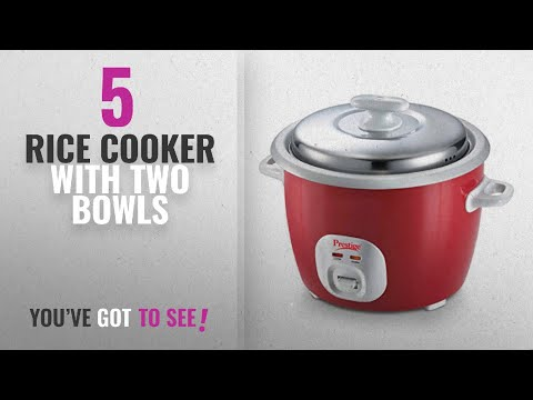 5f15293ba Top 10 Rice Cooker With Two Bowls  2018   Prestige Delight Electric Rice  Cooker