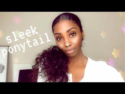 How To: Sleek Ponytail W/ Weave | Mslynn Hair