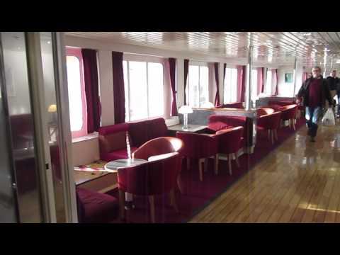 Paris to London via the Dover Ferry