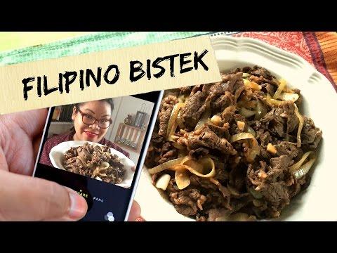Filipino Bistek (Beef Steak) | VlogNoms | Just Eat Life