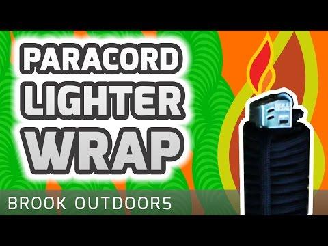 Paracord Lighter Wrap (Quick Release)