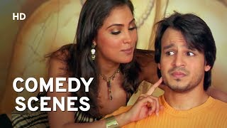 COMEDY SCENES   Vivek Oberoi   Aftab Shivdasani   Ajay Devgn   Ritesh Deshmukh   Lara Dutta   Masti