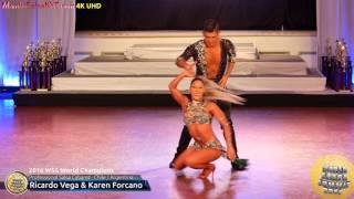 WSS16 Professional Salsa Cabaret World Champions Ricardo Vega & Karen Forcano