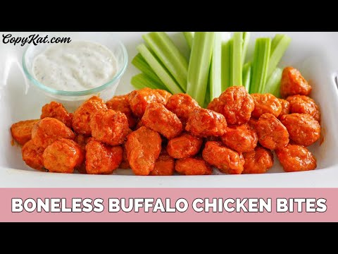Buffalo Boneless Chicken Bites