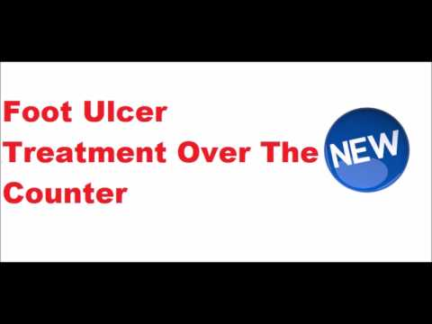 Foot Ulcer Treatment Over the Counter