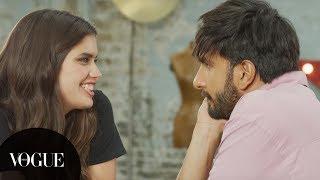 Ranveer Singh Teaches Victoria's Secret Model Sara Sampaio to Speak in Hindi | VOGUE India
