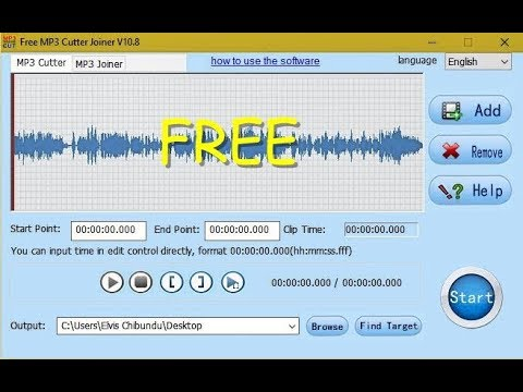 Best Free MP3 cutter joiner Software 2018
