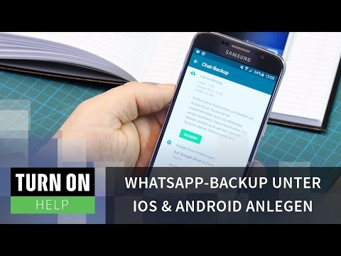 WhatsApp-Backup unter iOS & Android anlegen - HELP - 4K
