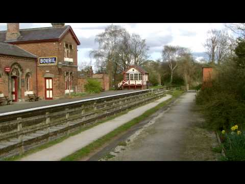 Half an Hour at (100) - Hadlow Road Station 11.4.2015 - Wirral Willaston Hooton