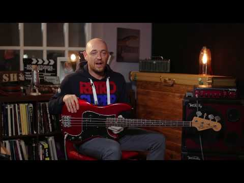 Making Your Electric Bass Sound Like An Upright /// Scott's Bass Lessons