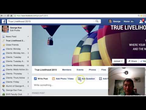 How to share a youtube video to a Facebook group