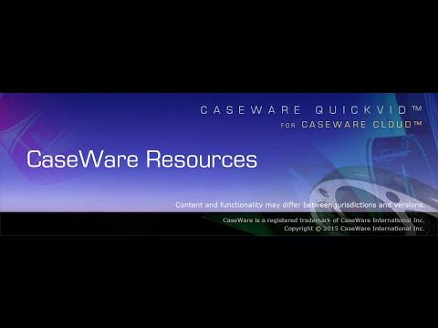 CaseWare Resources