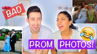 REACTING TO EMBARRASSING PROM PHOTOS (including our own)!