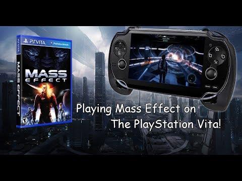 Mass Effect Moonlight 0.3.2 Streamed to PlayStation Vita Wifi Test 1