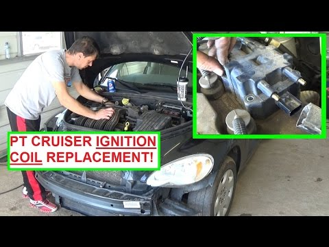 Chrysler Pt Cruiser Ignition Coil Removal and Replacement in 5 MINUTES! 2001-2009