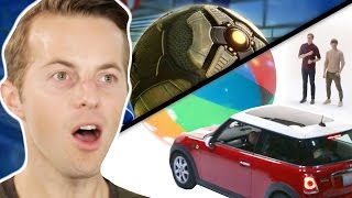 The Try Guys Play Rocket League