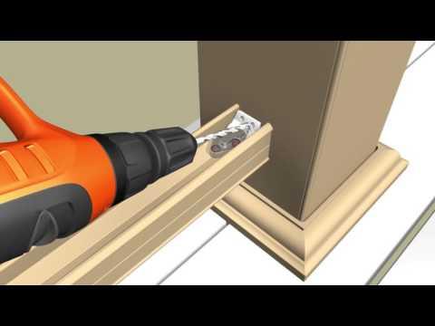 AZEK Rail: Composite & Aluminum Baluster Infill Installation - Deck Railing